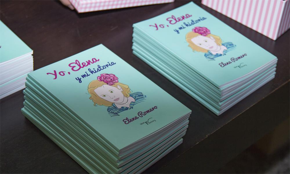 Elena, una niña de 8 años que pide ayuda para curarse escribiendo un libro