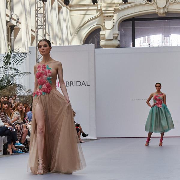 Hannibal Laguna triunfa en la Bridal Week Madrid con 'Lovely'