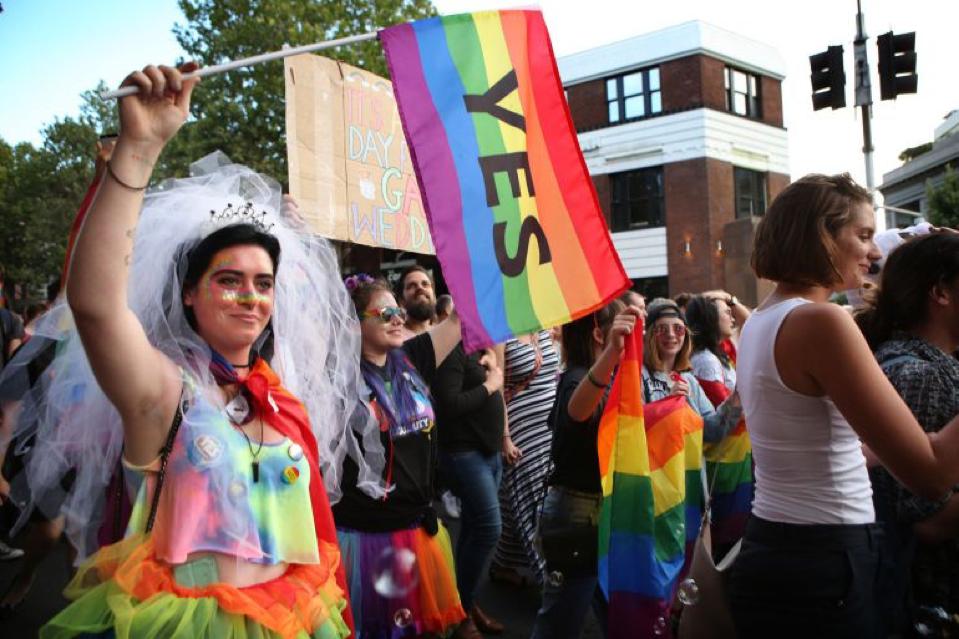 Marcha derechos LGTBI
